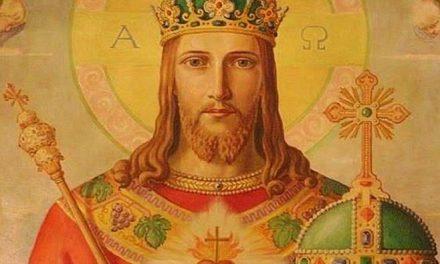 Solemnidad de Cristo Rey (Jesucristo Rey del Universo)