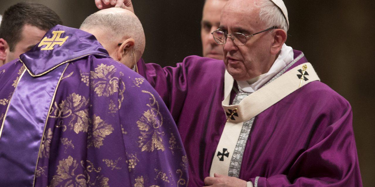 Papa Francisco llama a la conversión durante la Cuaresma y a abrirse al diálogo con Dios