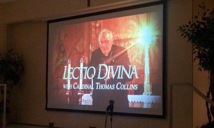Arquidiócesis de Toronto llama a unirse al cardenal Collins para 'Lectio Divina' del domingo 5 de abril