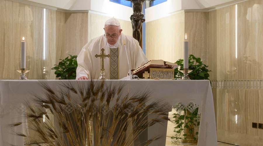 El Papa pide rezar por las mujeres embarazadas y advierte contra el riesgo de una fe 'virtual'
