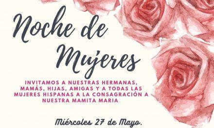 Invitan a mujeres hispanas a participar de una noche de intersección y testimonio
