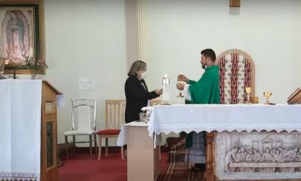 Parroquia Guadalupe de Toronto dio la bienvenida a sus fieles a la misa tras tres meses de aislamiento