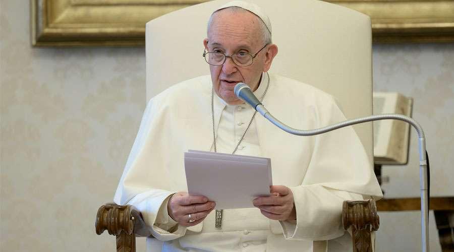 'Ser agradecido es una característica del cristiano', defiende el Papa Francisco a través de su Twitter