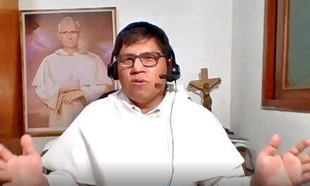 Fray Aldo Torrez Roca: «Descubrir y cultivar la Amistad con Dios en tiempos de Pandemia»