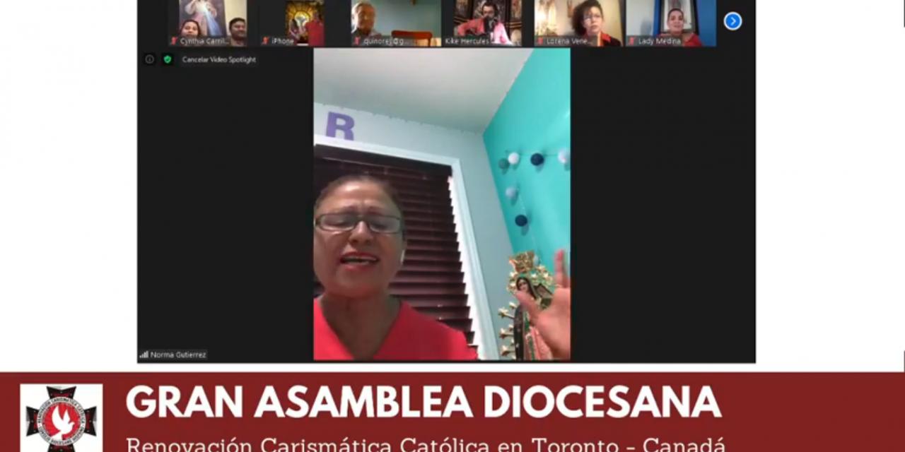 Carismáticos hispanos de Toronto invitan a la Gran Asamblea Diocesana Virtual el 29 de agosto