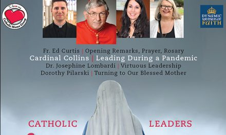 Invitan a líderes católicos de Toronto a la conferencia en línea '¡Levántate!'