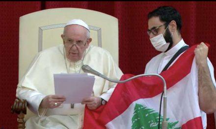 Papa Francisco reanuda Audiencias Generales con público y convoca a Jornada de Oración por Líbano
