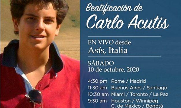 Beatificación de Carlos Acutis: Horarios de transmisión en todos los medios católicos