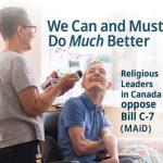 Carta del Editor: «La valiente posición de líderes religiosos de Canadá para frenar la Asistencia Médica al Morir»