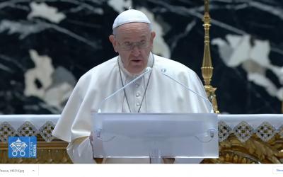 Mensaje del Papa en la Pascua: «Cristo resucitado es esperanza para todos los que sufren por el Covid-19»