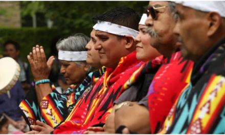 Oración por la tolerancia, el perdón y la reconciliación, en el Día Nacional de los Pueblos Indígenas