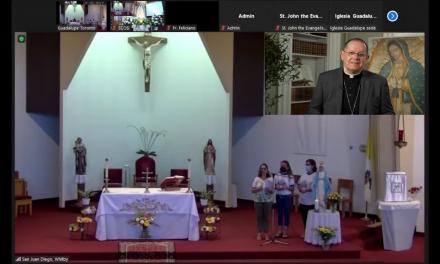 Parroquia Nuestra Señora de Guadalupe de Toronto celebró con júbilo el 1er. Encuentro Virtual Hispano